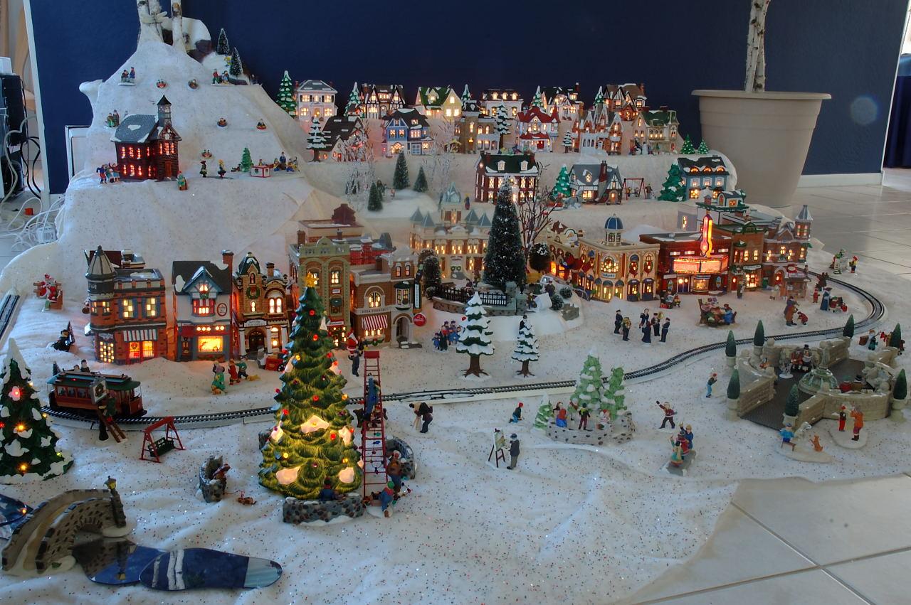 Christmas Houses Village Set